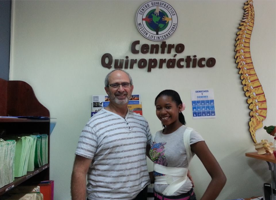 Dr. Gary Deutchman, Co-founder of the Scoliosis Care Foundation provides scoliosis care to needy children in Haiti with braces donated by our patients.